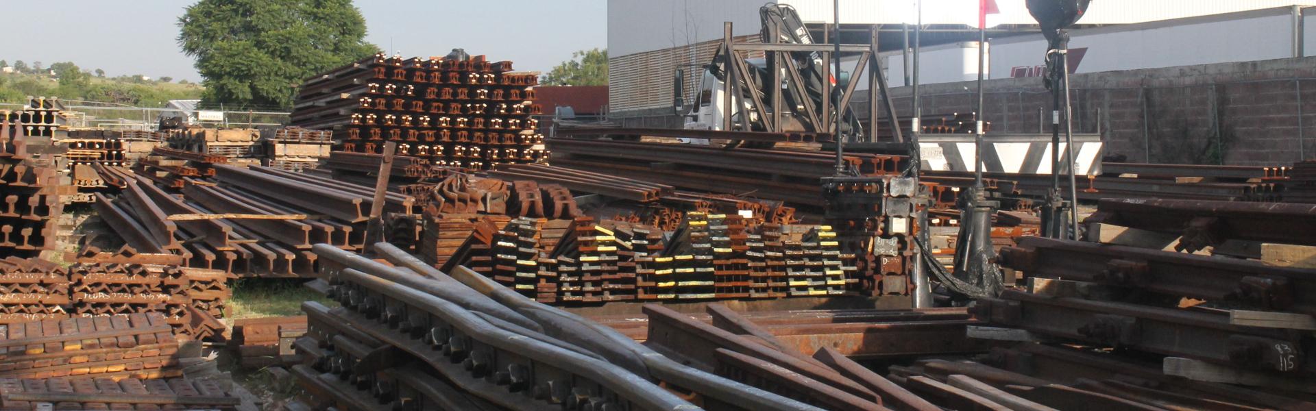 Rieles ferroviarios - Accesorios